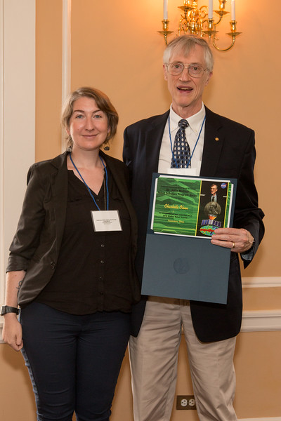 Charlotte Olsen -- 2016 Dr. John Mather Nobel Scholars Program Award  luncheon, held at the Hopkins Club, Johns Hopkins University, Baltimore, MD, July 26, 2016.