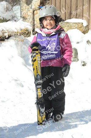 Tiny Tots Ski School 2-18-13