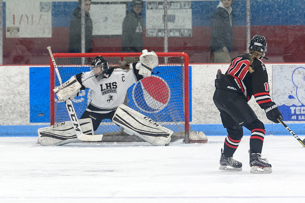 LHS Girls Hockey vs. Marblehead 2019