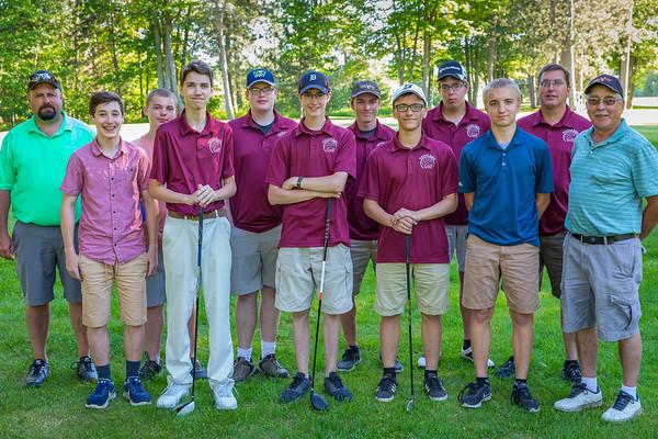 Fairview Golf Team 2018