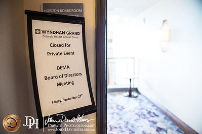 2013 09 27 DEMA Board of Directors Meeting