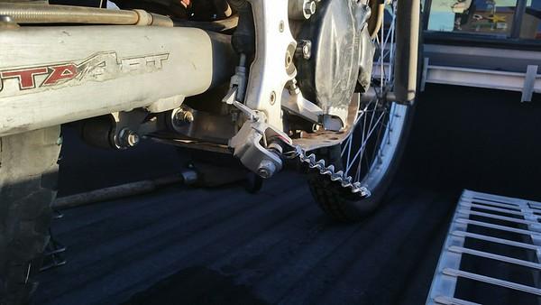 2005 Montesa 4RT Frame Repair
