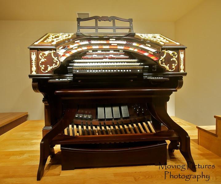 Music Hall - keyboard console to the ballroom organ