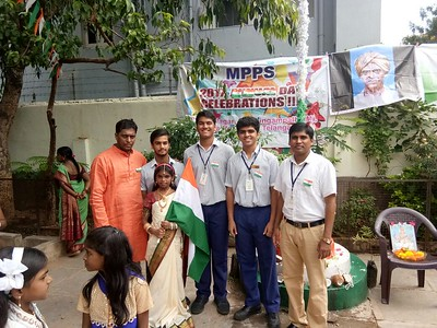 Independence Day Celebrations at Adopted Govt. schools