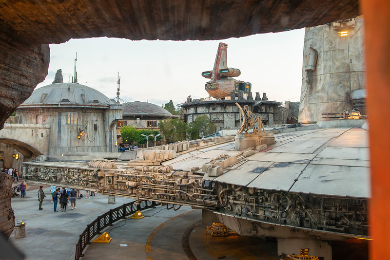 Star Wars: Galaxy's Edge - Millennium Falcon Ride View