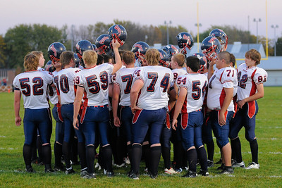 2010 Orono Varsity Football vs. Hutchinson