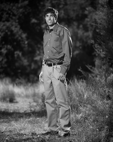 Zach Hanson Senior Year Portrait