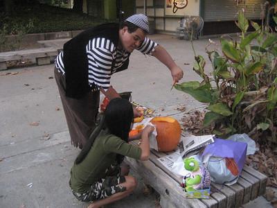 Pumpkin Carving (10/29/06)