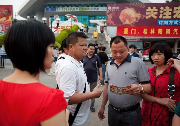 Guangdong v. Xinjiang CBA Game in Dongguan