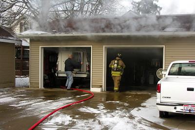 01-14-12 Coshocton FD Truck Fire