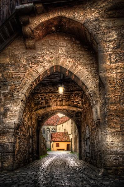 Gates of Rothenburg ob der Tauber