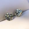 3.40ctw Old European Cut Diamond Pair 23