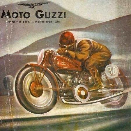 Moto Guzzi Art and Ads