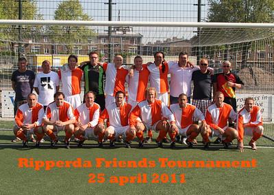 Ripperda Friends Tournament, 25 april 2011