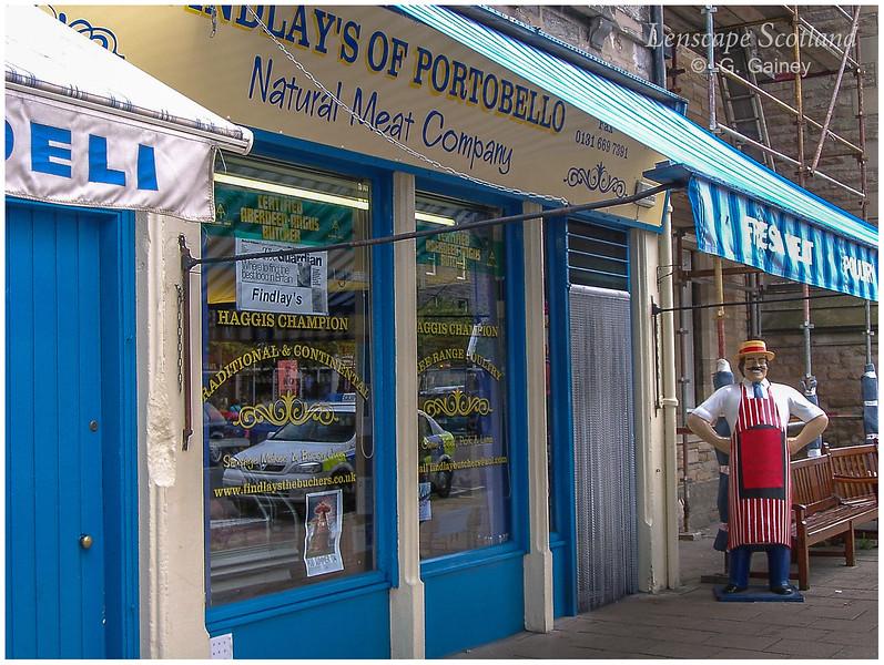 Findlay's Butchers, Portobello High Street (2004)
