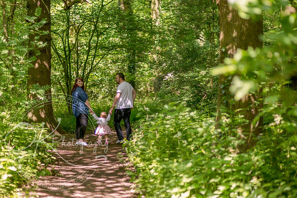 Sam and Daren Engagement Photos at Swithland Wood's