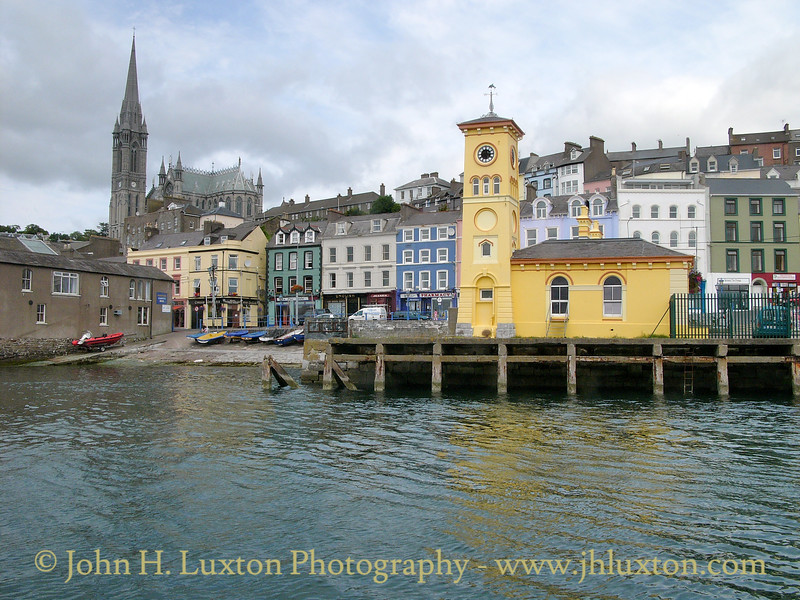Old Town Hall, Cóbh, County Cork, Eire - July 25, 2004