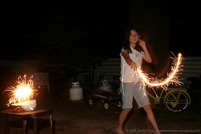 GESO - 4th of July Sparkler Study