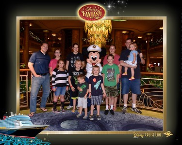 Carlstons & Allens on Disney Cruise Dec2018
