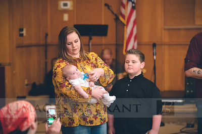 Ignite Baby Dedication March 2019
