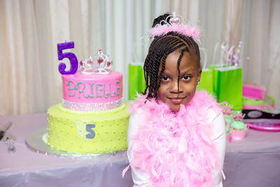 Brielle's 5th Birthday Party