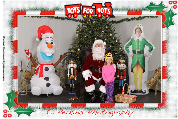 Toys for Tots Santa 2016