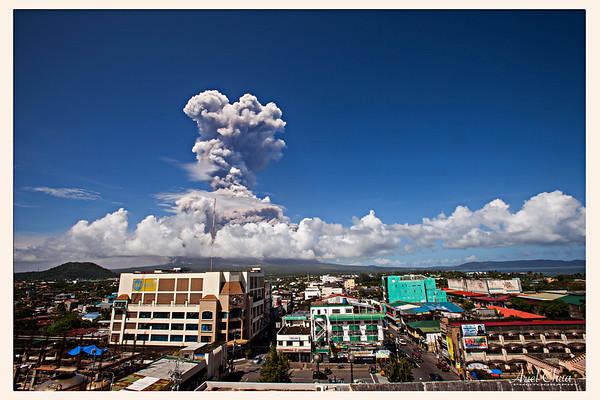 Mt. Mayon Volcano Eruption 2018