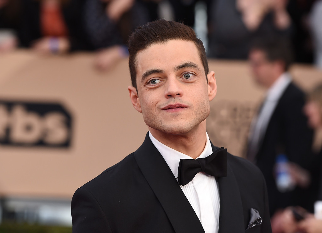 . Rami Malek arrives at the 22nd annual Screen Actors Guild Awards at the Shrine Auditorium & Expo Hall on Saturday, Jan. 30, 2016, in Los Angeles. (Photo by Jordan Strauss/Invision/AP)
