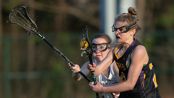 Broughton Lady Caps lacrosse at Middle Creek. February 26, 2019. D4S_1843