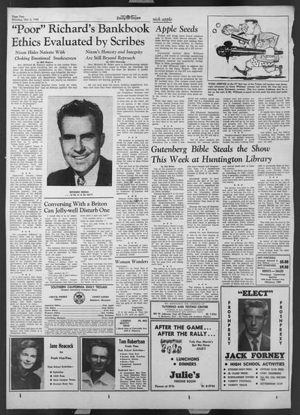 Daily Trojan, Vol. 44, No. 16, October 06, 1952