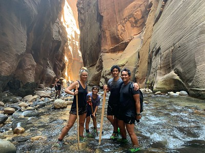 2020.08.19 Zion National Park family vacation