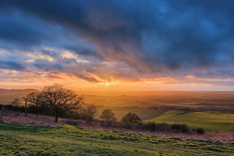Dunstable Downs,  Bedfordshire Sunset