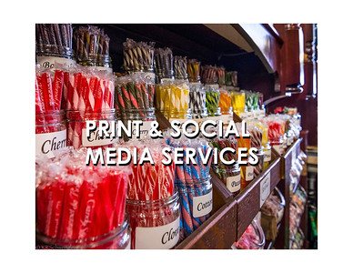 PRINT AND SOCIAL MEDIA SERVICES