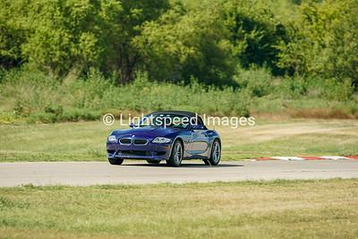Blue BMW Z4 M