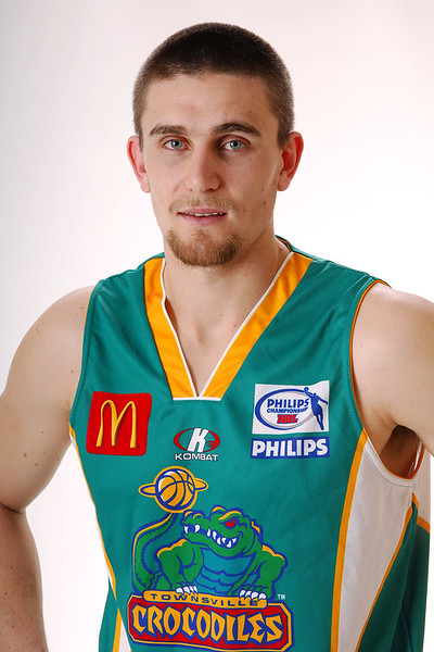 27 JUL 2006 - Andrew Rice #9 (Forward, 205cm, 108kg) - Home playing strip - Townsville McDonald's Crocodiles players/staff photos - PHOTO: CAMERON LAIRD (Ph: 0418 238811)