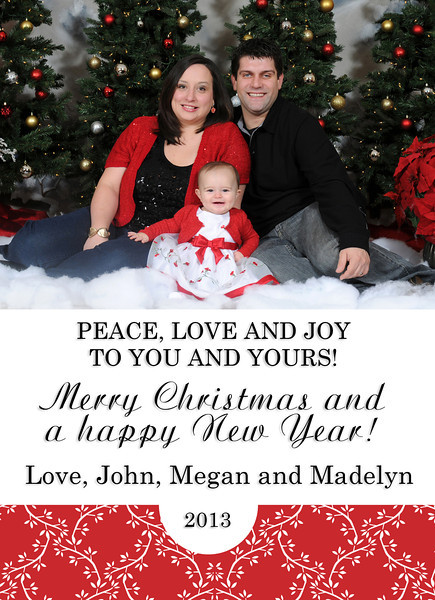 Holiday Sample Cards