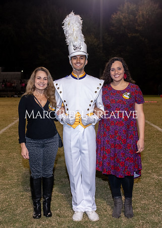 Broughton varsity football vs Cardinal Gibbons. Band and Dance Team Senior Night. October 25, 2019. MRC_3721