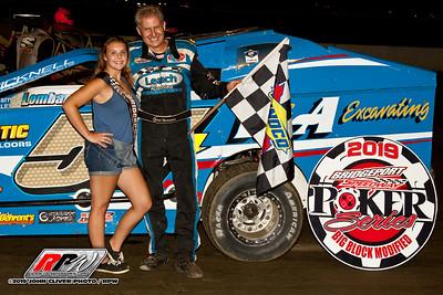 Bridgeport Speedway - 8/1/19 - John Cliver