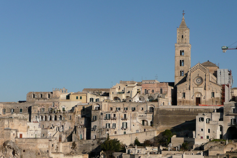 I Sassi and the Cathedral. Matera