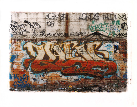 Bay Area Graf in the 90s