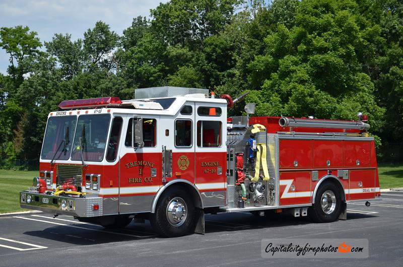 Tremont Fire Co. (Tremont Borough) Engine 67-10: 1996 KME Renegade 1750/1000