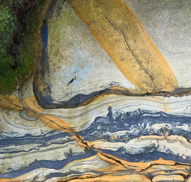 Sandstone Rocks, Point Lobos, 2020