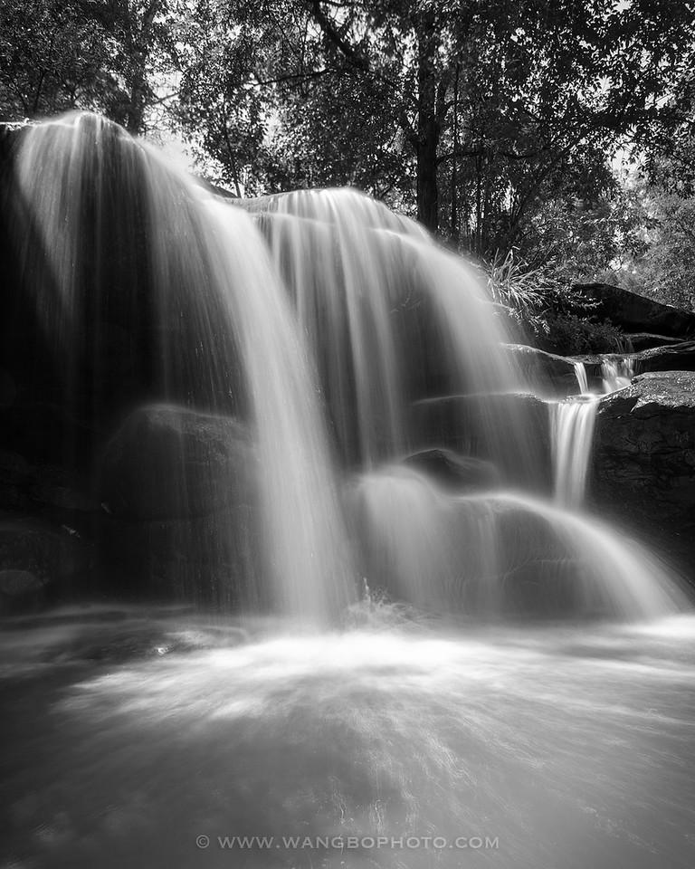 悉尼市区不为人知的美丽瀑布 Hunts Creek Waterfall - 一镜收江南 - 清韵