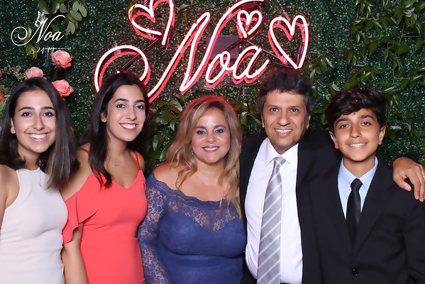 Noa Bar Mitzvah (BW and Color SkinGlow Booth)