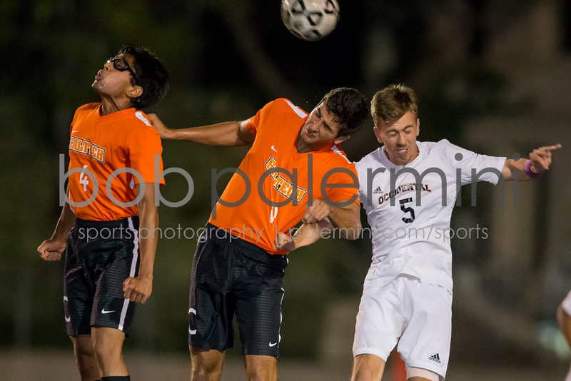 Caltech Soccer vs Occidental 10-26-15