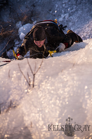 Ice Climbing With Rich Wight