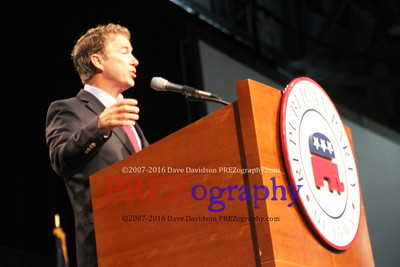 Rand Paul at Iowa GOP convention 2014