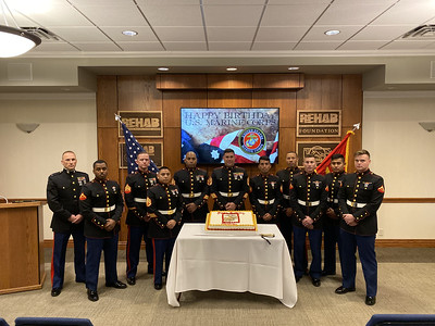 2019 Marine Cake Cutting Ceremony