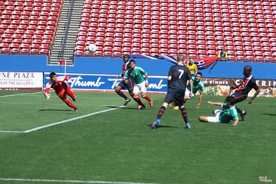 Dallas Cup XXXIII - Mexico Sub 20 vs Paris St Germain (4/1/2012)