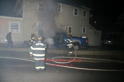 Winthrop, MA - Truck Fire, 1 Shore Drive, 10-8-08